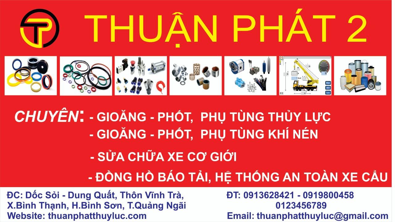 Bấm ống thủy lực - gioăng - phốt tại Bình Sơn, Quãng Ngãi